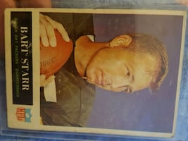 NFL BART STARR Football CARD