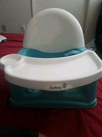 baby's white and blue Bumbo floor seat Bakersfield, 93309
