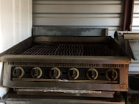 Stainless steel gas grill Luling, 70070