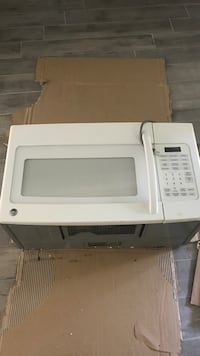 white General Electric microwave oven Hawthorne, 07506
