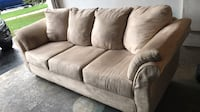 suede 3-seat sofa / couch Milton, L9T 5H9