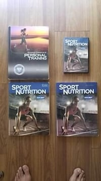 NCSF Personal Trainer Sport Nutrition Cert Text Books Study Guide, DVD