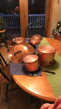 Copper cookware Milford, 03055