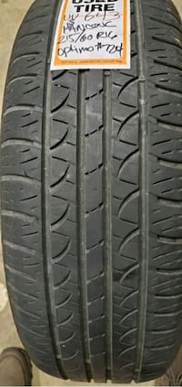 Used 2156016 Hankook tires Price is for Each tire