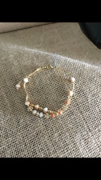 Gold and white beaded Moreno Valley, 92557