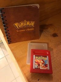 Pokemon Red game only with manual for Ninentendo Gameboy Toronto, M6J 3C2