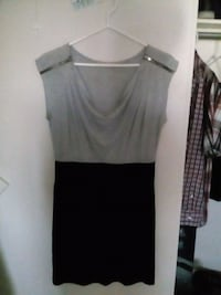 women's gray and black sleeveless dress Winnipeg, R2P 0A2