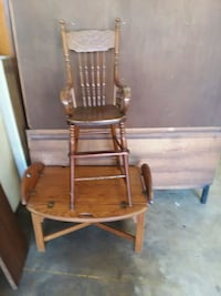 brown wooden windsor rocking chair Stafford, 22554