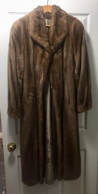 brown fur jacket Kitchener, N2E 4K9