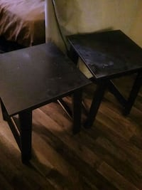 Matching Small Black Tables Las Vegas, 89103