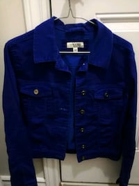 blue button-up jacket Guelph, N1G 4M5