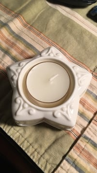 Lenox star candle holder