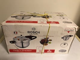 Stainless steel BOSCH Pressure Cooker (NEW)