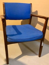 Midcentury blue chair Silver Spring, 20901
