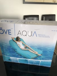 Ove Inflatable Pool Float Lounger, Blue