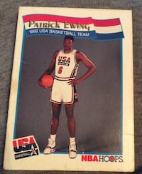 Patrick Ewing USA Basketball DREAM TEAM 1992 NBA Limited Card Peachtree Corners, 30092