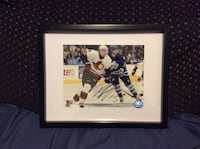 Dany heatley signed and framed photo