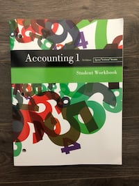 Accounting workbook Surrey, V3X 2T8