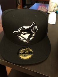 black and white Toronto Blue Jays New Era fitted cap Winchester, 22602
