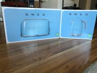 SMEG toaster and kettle, BNIB Vancouver, V5X