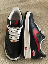 Nike Air Force 1 Low Puerto Rico Limited Edition Size 8 W/ Coqui pic Franklin, 08873