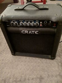 Crate GT15 15W 1x8 Guitar Amplifier San Francisco