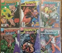 6 COMICS - DC Spanner's Galaxy # 1-6 COMPLETE SET - In excellent condition - bagged Pick-up in Newmarket Newmarket