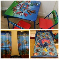 Paw patrol bed room set. District Heights, 20747