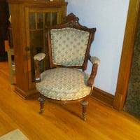 Antique Carved Chair Chicago, 60634