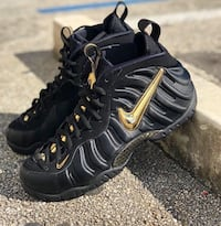 """cheap for discount f72ad d159d Used Nike Air Foamposite Pro """"Black/Metallic Gold"""" for sale in Miami  Gardens - letgo"""