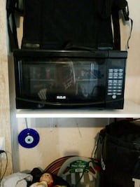 black and gray microwave oven Hamilton, L9C 0B8