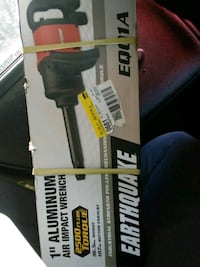 """1"""" aluminum air impact wrench never opened Bakersfield"""