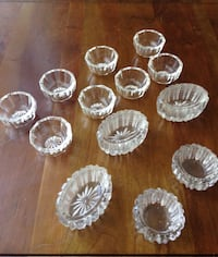 Antique glass salt cellars Catonsville, 21228