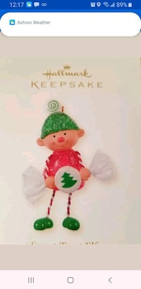 hallmark 2006 sweet treat elf NIB Baltimore, 21205