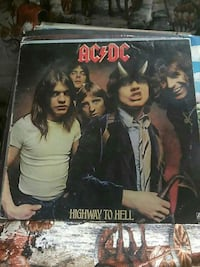 ACDC highway to hell vinyl album Great Falls, 59401