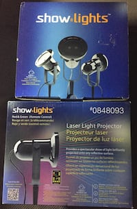 NIB LED Light Christmas Projectors with Remote Control