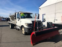 international  - terrastar 6.4L diesel 12 ft aluminum bed spreader and snow plow  - 2013 Manassas