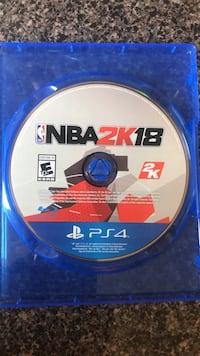 NBA 2K18 PS4 game disc Arlington, 22202