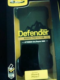 black OtterBox Defender Series for iPhone 7&8 Hagerstown, 21740