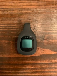 Black Fitbit with silicone clip on case Chantilly, 20152
