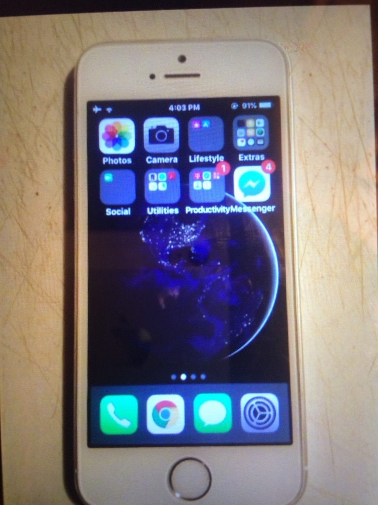 gold iPhone 5s, used for sale  Columbus