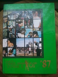 HD Woodson Warriors 1987 Yearbook