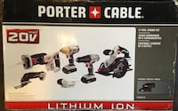 PORTER-CABLE 6-Tool 20-Volt Max Lithium Ion Cordless Combo Tool Kit Capitol Heights, 20743