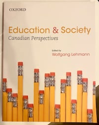 Education & Society: Canadian Perspectives Textbook Brampton