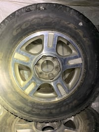 Ford truck stock rims with tires 6 lug