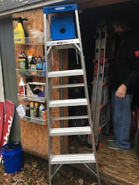 Used 6 Foot Step Ladder For Sale In Raleigh Letgo