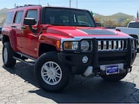 2008 Hummer H3 Victory Red