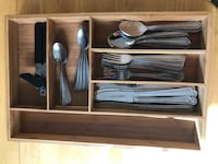 "Full Silverware Set W/ ""Bamboo"" Holder Los Angeles, 91601"
