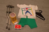 American Girl Crutches & Cast Outfit Ashburn
