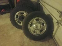05 f150 4 wheels and 2 tires 17 inch